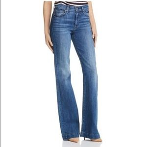 7 For All Mankind Jeans - 7FAM | Ginger High-Rise Jeans Athens Broken Twill